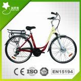 숙녀를 위한 Netherland 시장 700c 거대한 250W 도시 전기 자전거