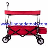 يطوي عربة مع تغطية/حقائب