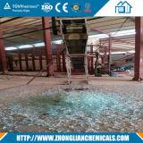 Protuberâncias alcalinas do silicato de sódio/sólido/floco