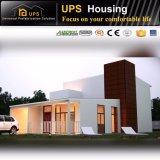 Nuevo chalet económico modular verde del acero de la luz del diseño