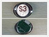 Braille Button de Button d'ascenseur pour Elevator (SN-PB123)