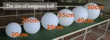 Nuova sfera di sollevamento di natale LED di illuminazione di tecnologia LED per la decorazione