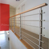 De Stevige Balustrade van uitstekende kwaliteit van de Veranda van de Staaf Ss316 voor Traliewerk Decking