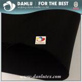 Alto tela tejida de la memoria de la calidad de la escala poliester grueso para el material de la chaqueta