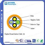 Optische Duplex Ronde BinnenKabel III van de vezel voor Gebruik FTTH