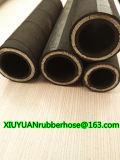 Stahldraht-Spirale-Hochdrucköl-flexibler hydraulischer Gummischlauch