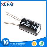 Par le prix en aluminium de condensateur électrolytique du trou 1500UF 200V