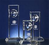 Spaties van de Trofee van het Glas van de douane de Duidelijke Acryl Organische (btr-I 7058)
