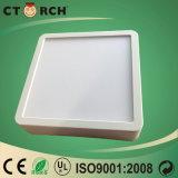 18W desenvolvido novo integrou a luz de painel quadrada da montagem da superfície do diodo emissor de luz