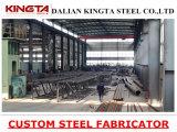Fascio saldato del passaggio pedonale della struttura d'acciaio
