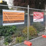 Banderas de encargo del acoplamiento del PVC del vinilo de la impresión de la cerca al aire libre