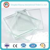 vidro ultra desobstruído do ferro de 19mm baixo (vidro de flutuador desobstruído extra)