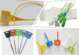 Etiquetas dos Tag da cinta plástica da microplaqueta da freqüência ultraelevada RFID do estrangeiro H3 do Sell