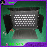 La iluminación 72X3W Blanco Etapa Etapa de Fresnel LED