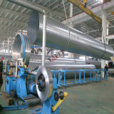 Gewundenes Gefäß, das Maschine für die Ventilations-Leitung bildet Produktion bildet