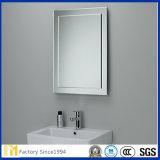 Espejo de cristal de 2mm-12mm de plata para el sitio de ducha, vestirse, muebles