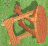 Houten Kruk van de Stoel van het Meubilair van de tuin de Openlucht Vouwende