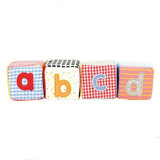 Plush Cube Baby Toy Plush Building Block