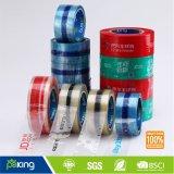 Adesivo acrílico BOPP fita de embalagem impressa com cor de fundo