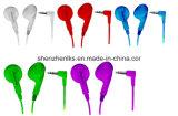 Auriculares descartáveis da aviação dos fones de ouvido da linha aérea da fábrica de China