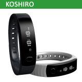 Bracelet intelligent de forme physique d'activité de mode de Bluetooth4.0 OLED