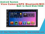 Lettore DVD Android dell'automobile del sistema GPS per le terre di Siena di Toyota schermo di tocco di 10.1 pollici con Bluetooth/WiFi/MP3/MP4/TV