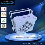 lumière sans fil de PARITÉ de 12*6in1 RGBWA+UV DMX DEL, lumière de PARITÉ de l'alimentation par batterie DEL, éclairage de /Wireless DEL/rondelle sans fil de mur de la batterie DEL