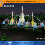 Type extérieur de luxe de fontaine de syndicat de prix ferme de modèle de Seafountain de musique de multimédia