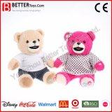 Brinquedo macio de fala do urso da peluche do animal enchido do urso da peluche do brinquedo do luxuoso para miúdos