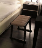 Soild hölzerner Rahmen-Gewebe-Stuhl
