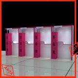 Armoires d'affichage cosmétiques montées au mur avec des lumières
