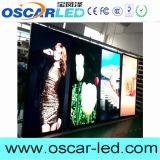 Indicador de diodo emissor de luz video do guia humano interno da compra da altura da loja P2.5