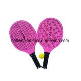 Raqueta de tenis de playa con una pelota Juego de paleta de palo de playa