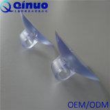 Tazze di plastica su ordinazione di aspirazione del PVC di Qinuo con gli ami trasversali