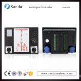 低電圧の配電盤または開閉装置の電源制御装置の中心の分布キャビネットのコントロール・パネル