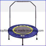 4-Folding mola Tampoline com o punho para a aptidão