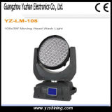 Luz principal móvil de la colada de la iluminación 108*3W de la etapa