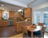 Amerikanische Art-moderne Küche-Schrank-Entwürfe