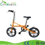 Bicicleta plegable ligera plegable de la bici portable 16 pulgadas