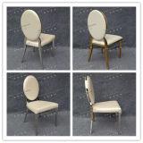 Acero inoxidable moderno del oro que cena la silla (YCX-SS26-02)