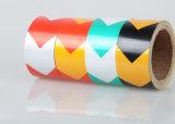 화살 접착성 사려깊은 비닐 스티커, 다채로운 안전 사려깊은 PVC 장 테이프