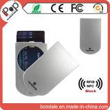 金属の機密保護のクレジットカードのケースを妨げるRFID