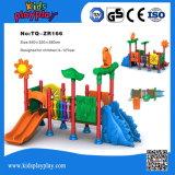 樹上の家シリーズ良質のSlide&の管の子供の販売のための屋外の運動場装置