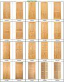 Porte en bois intérieure de couleur blanche pure neuve de modèle (porte en bois)