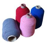 Filato elastico del poliestere 63#75*2 per i calzini