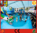 水公園のための巨大で膨脹可能なスライド