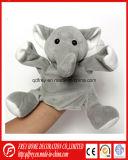 Het hete Stuk speelgoed van de Olifant van de Handpop van de Olifant van de Pluche van de Verkoop