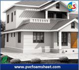 Isolation à haute densité de panneau de mousse de PVC pour la construction de bâtiments