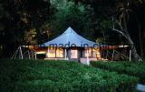 Casa de madeira de vida da barraca luxuosa da capacidade do feriado