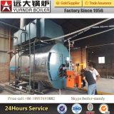 Gasöl-Dampfkessel Tph Heißwasser-Dampfkessel-Feuer-Gefäß-Typ 1-25 industrielles LPG-Erdgas-Dieselöl